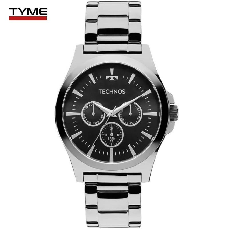 relógio technos masculino multifunção steel 6p29ajk 1p - nfe. Carregando  zoom. 5fa45c39ac