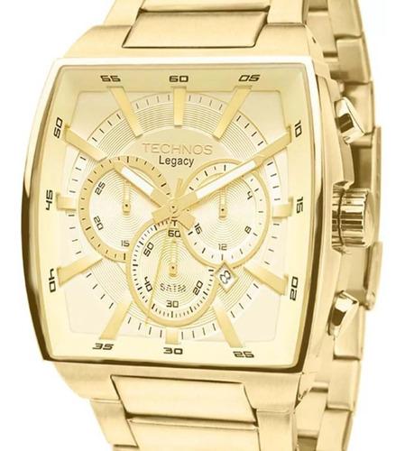 relógio technos masculino original + nota fiscal  sk58