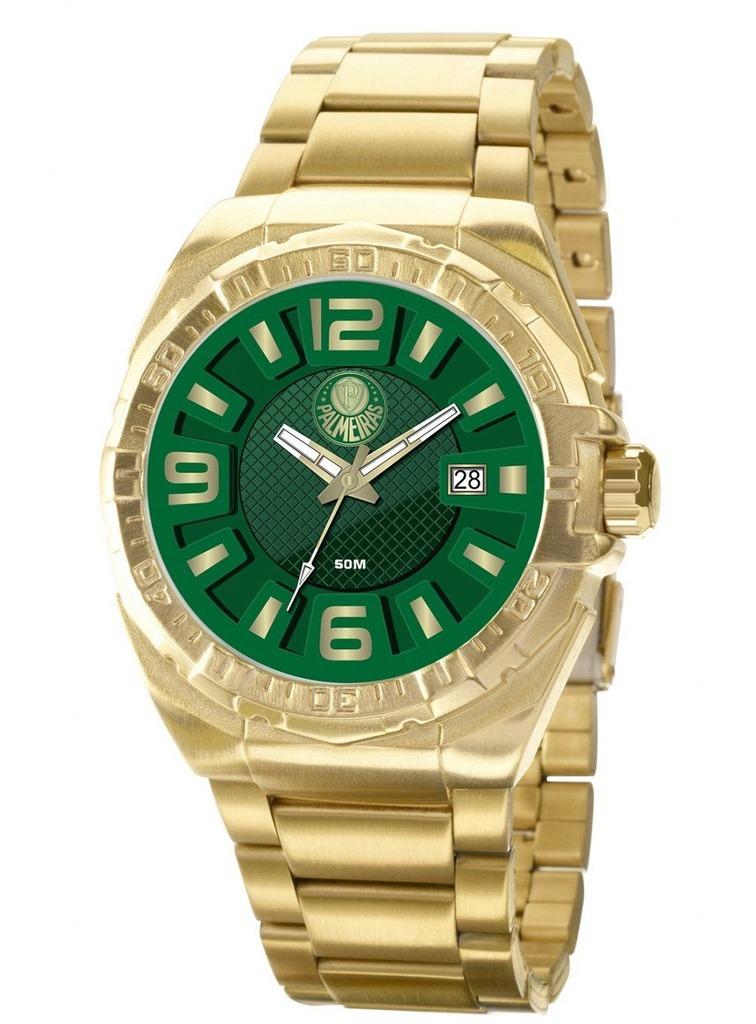 5beb69e0c370a Relógio Technos Masculino Palmeiras Dourado Pasa02315ak v - R  332 ...