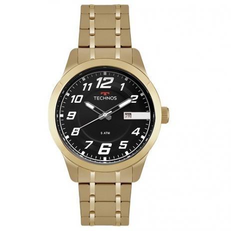 relógio technos masculino performance racer 2115mox/4p