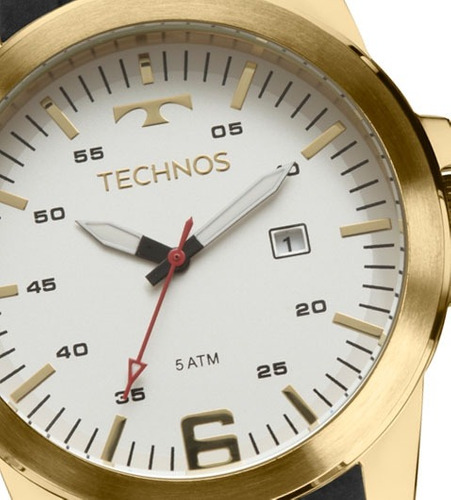 relógio technos masculino performance racer 2117laj/8b