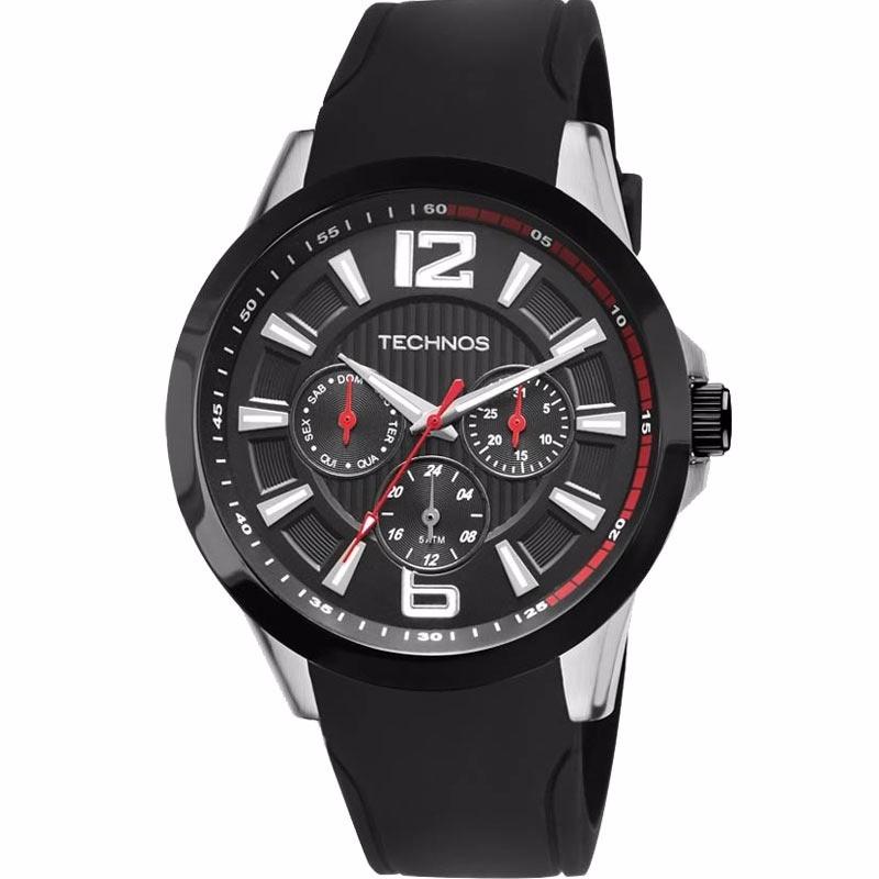 relógio technos masculino performance racer 6p29ahc 8p. Carregando zoom. 929a407a90