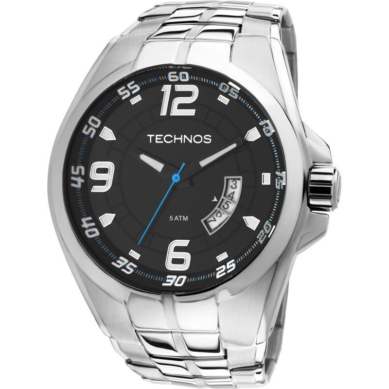 b9ac1951ced94 Relógio Technos Masculino Performance Racer Prata 2115ksw 1a - R ...