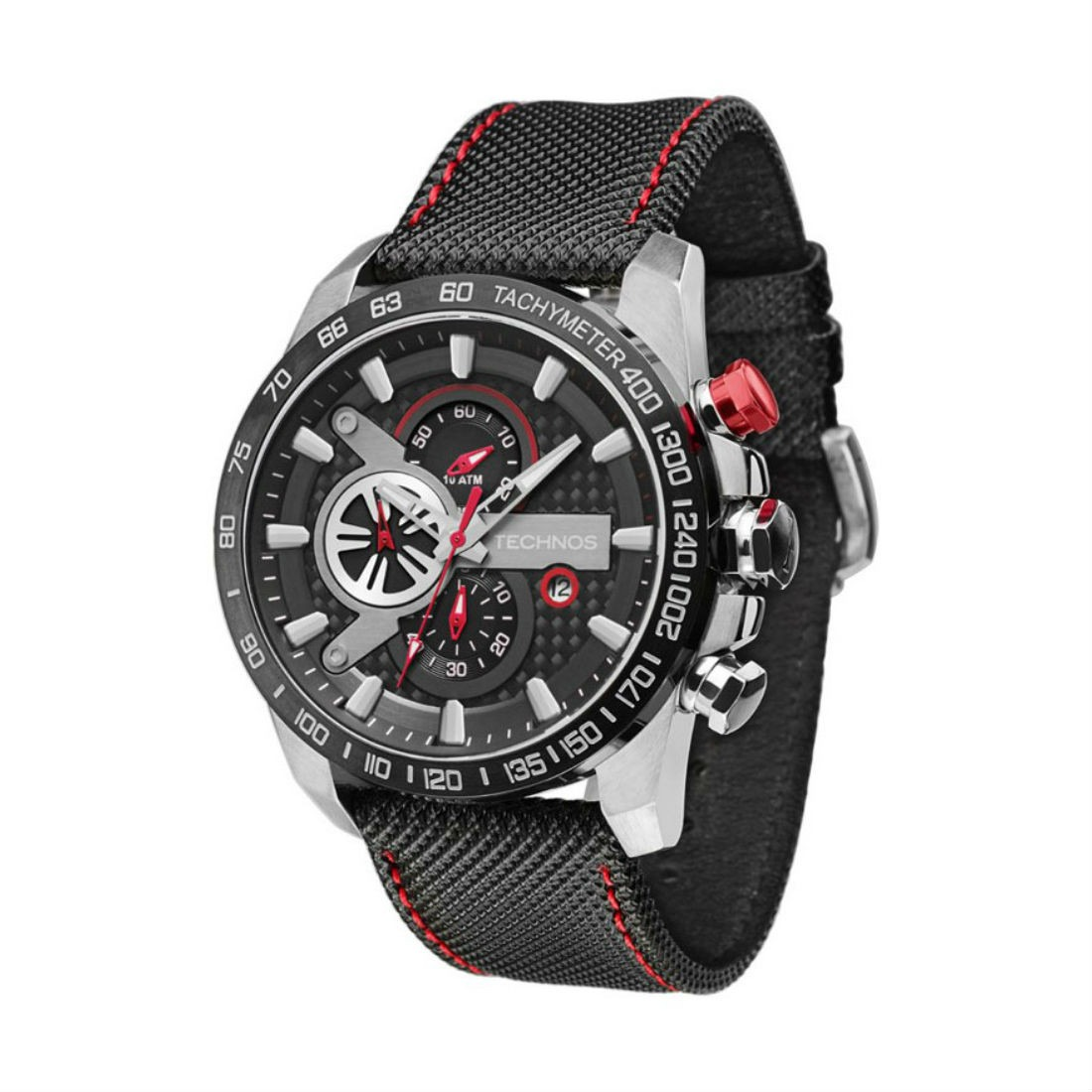 Relógio Technos Masculino Performance Ts Carbon - R  750,00 em ... a16e5ea50c