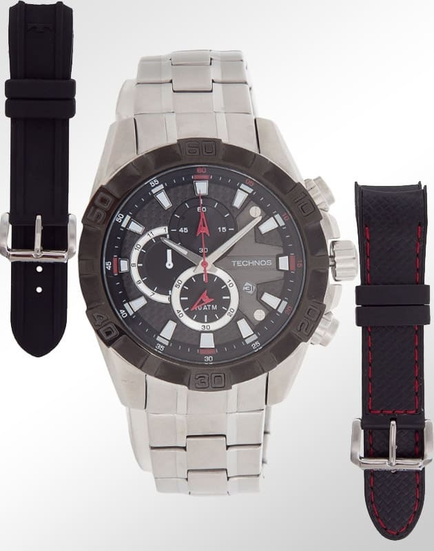 relógio technos masculino performance ts carbon os1aan 1p. Carregando zoom. d4dc6d3682