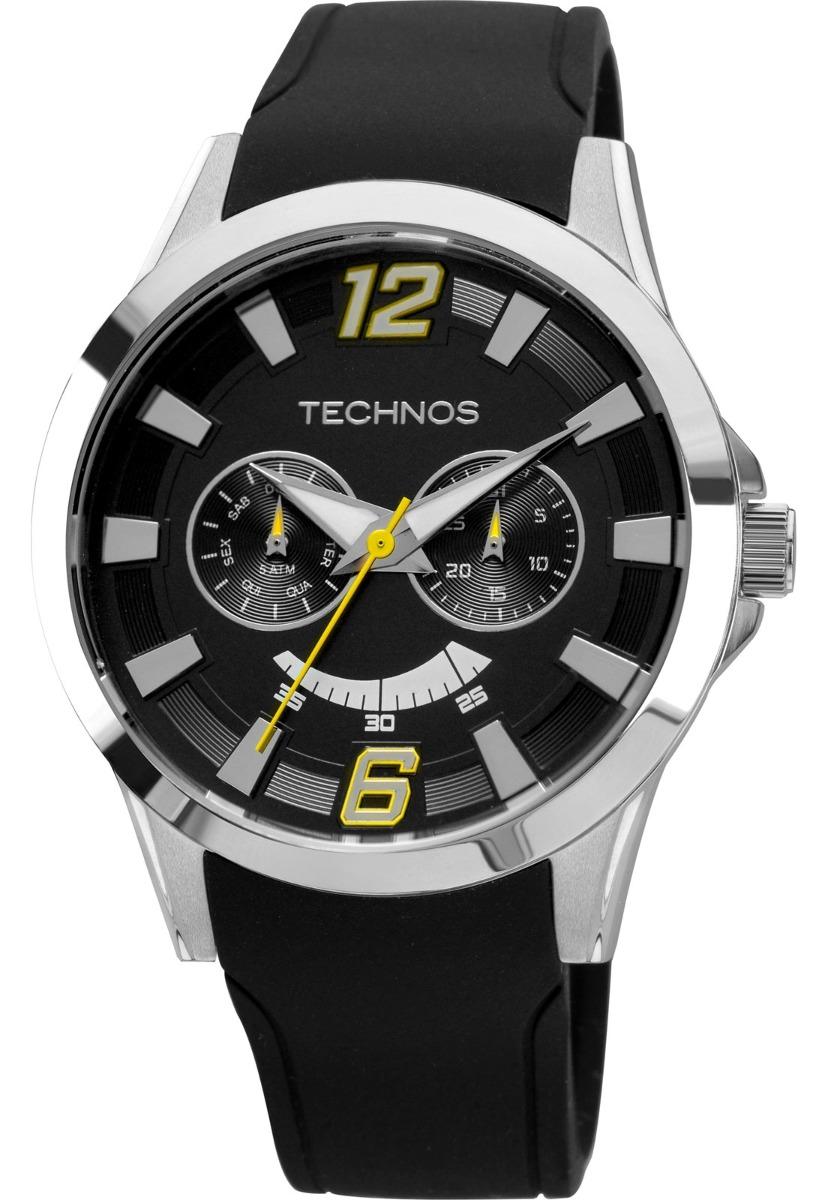 Relógio Technos Masculino Prata Racer 6p25al 8y - R  279,00 em Mercado Livre e06cc65c98