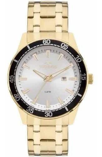 relógio technos masculino prateado 2115mmy/4k