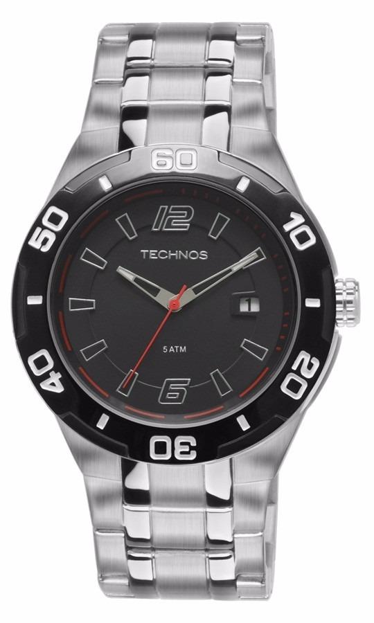a0a385bf62f58 Relógio Technos Masculino Racer 2315ke 1r - R  299