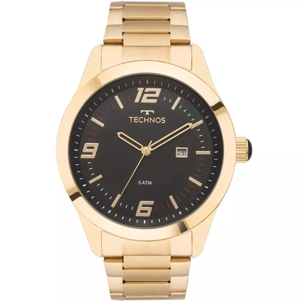e6b80141128d6 relógio technos masculino racer dourado gold 2115mnz 4p. Carregando zoom.