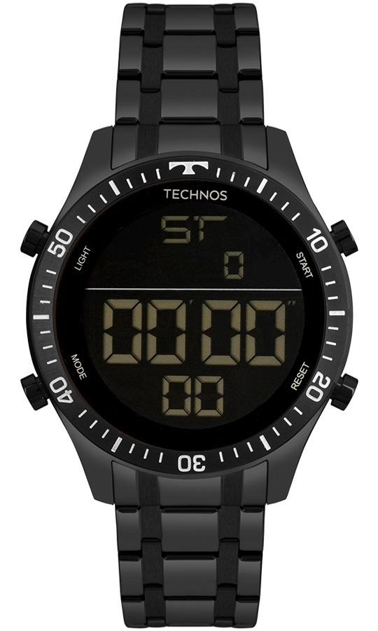 f0e2d0413b4 Relógio Technos Masculino Racer T02139ab 4p Preto Digital - R  498 ...