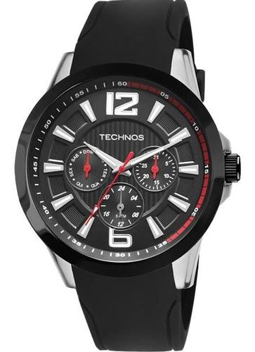 relógio technos masculino ref: 6p29ahc/8p