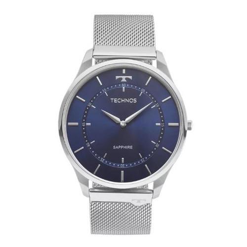 relógio technos masculino sapphire 9t22ai/1a
