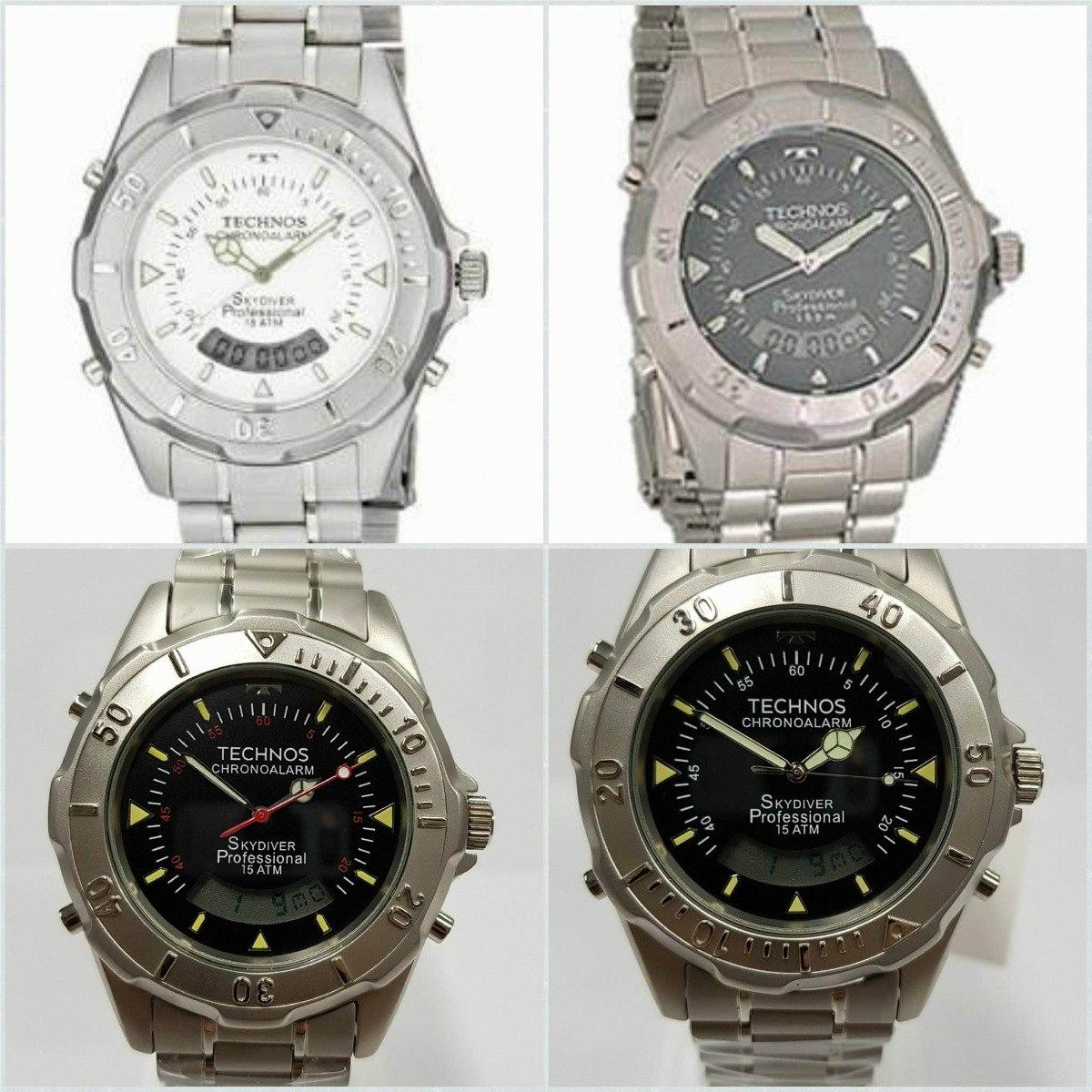 d8810eda82530 relógio technos masculino skydiver 4 fundos - promoção ! Carregando zoom.