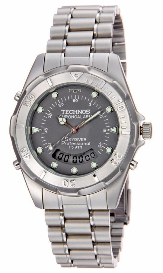 Relógio Technos Masculino Skydrive T20557 6c - R  368,10 em Mercado Livre 6ae511c74d