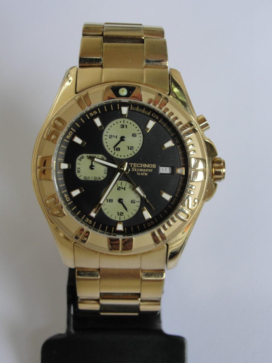 74f3aaf5d9d8c relógio technos masculino skymaster multifunções - wr 100. Carregando zoom.