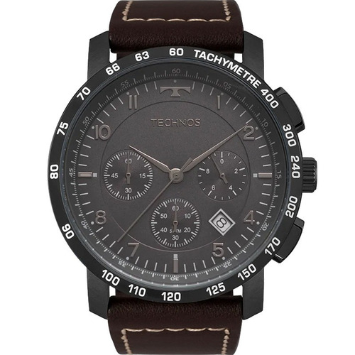 relógio technos masculino skymaster preto 6s20ab/2p c/ nfe