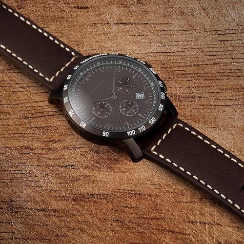 relógio technos masculino skymaster preto crono  6s20ab/2p