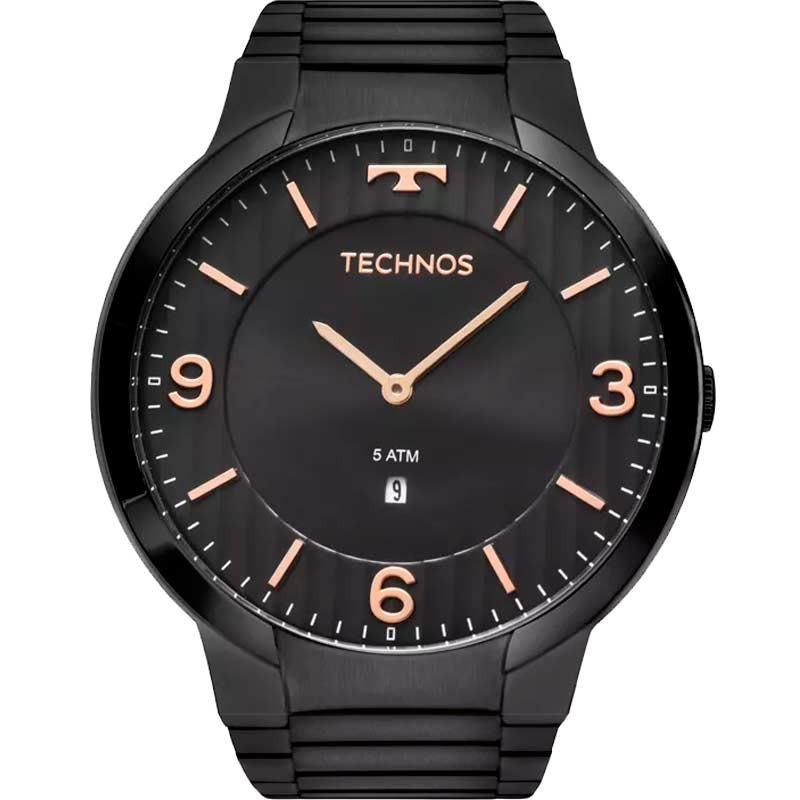 Relógio Technos Masculino Slim Gl15am 4p - R  459,00 em Mercado Livre c3a75b6e2c