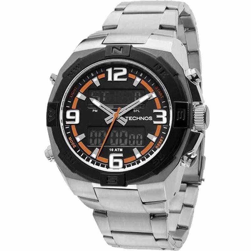 4698e698b92e6 Relógio Technos Masculino Sports Analogico digital 50592b 1p - R  457