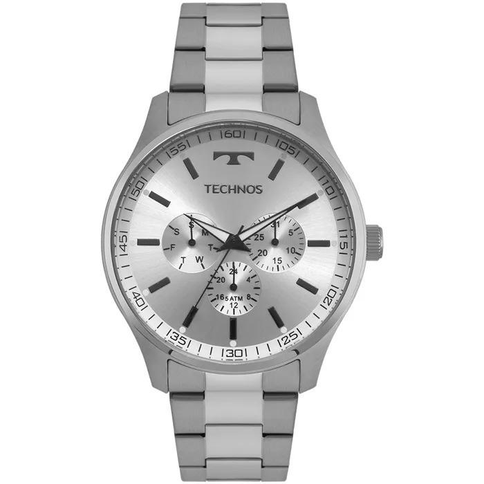 Relógio Technos Masculino Steel Prata - 6p29ajo 1k - R  269,90 em Mercado  Livre f042e57955