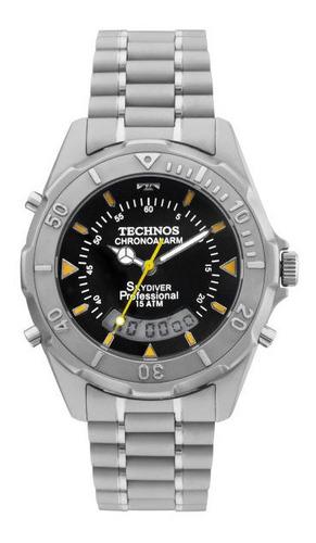 relógio technos masculino t205621p