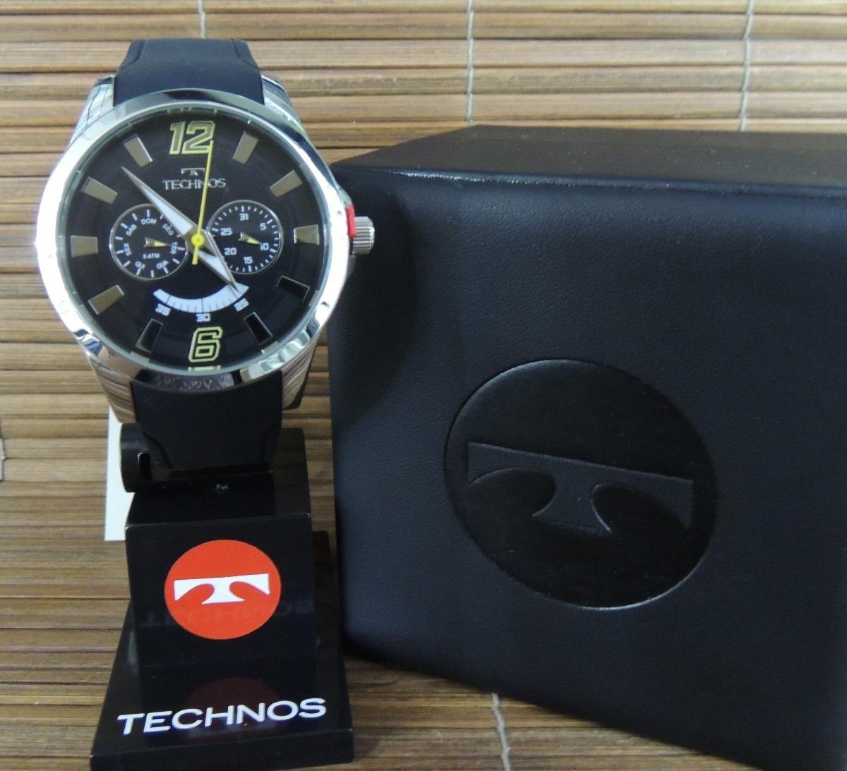 7b344dcad3162 relógio technos multifunção 6p25al 8y performance racer - nf. Carregando  zoom.