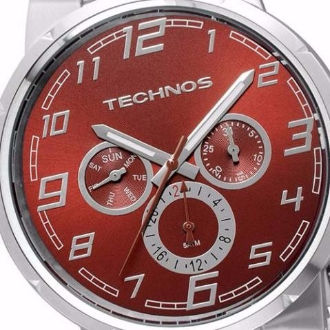 5a4226a90fd Relógio Technos Na Caixa   Performance Skymaster 6p29aao 1m - R  350 ...
