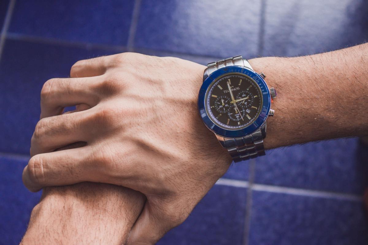 1906fe441678d relógio technos original classic ceramic js25bs 1a safira. Carregando zoom.