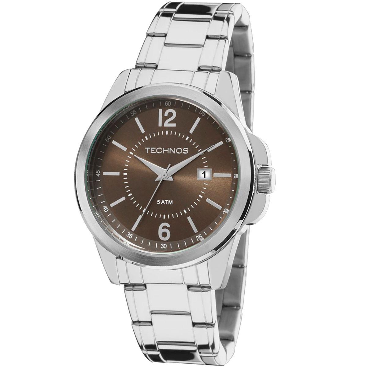 Relógio Technos Original Masculino 2115mkw 1m - R  279,90 em Mercado ... 9862f88ec3