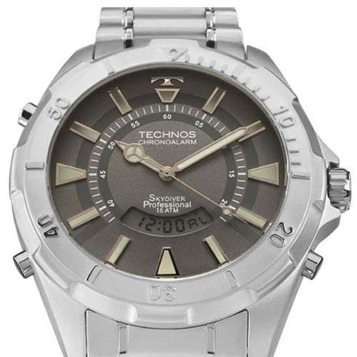 relógio technos original t205fm/1c