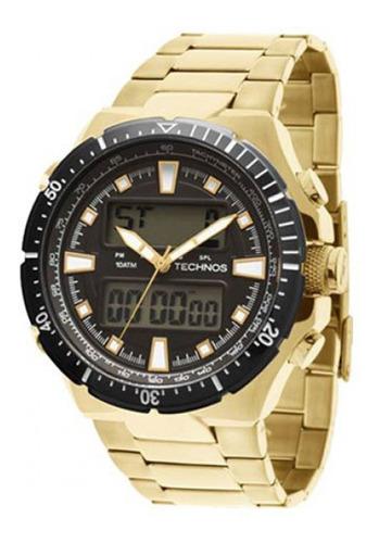 relógio technos performance masculino 0527ab/4p.