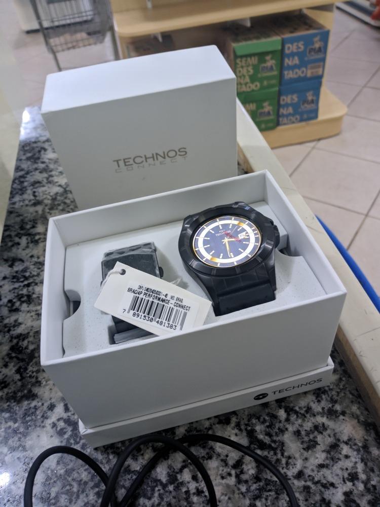 Relogio Technos Performance Srac 4 Aceito Trocas - R  1.200,00 em ... 2ed6a00cc9
