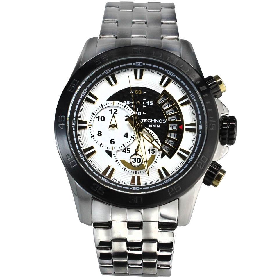 relógio technos performance ts carbon masculino os1aas 1b. Carregando zoom. ec209b7775