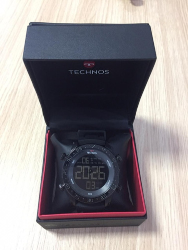 relógio technos - preto