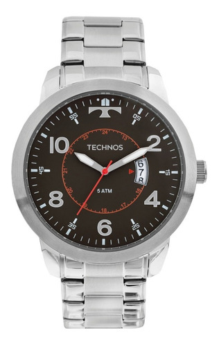 relógio technos racer masculino 2115ktm/1p