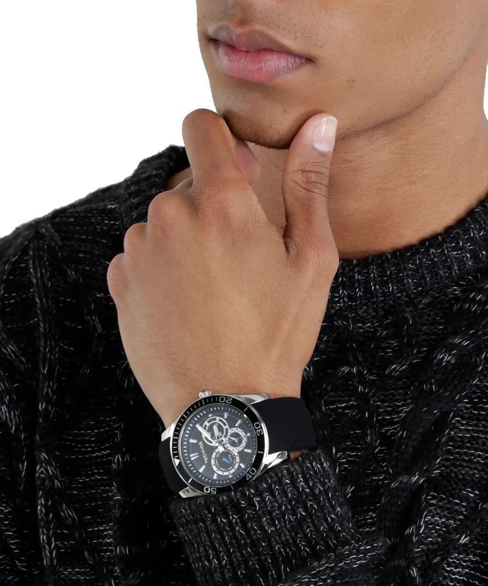 24677d8e48f relógio technos racer pulseira de silicone 6p29aiq 8p. Carregando zoom.