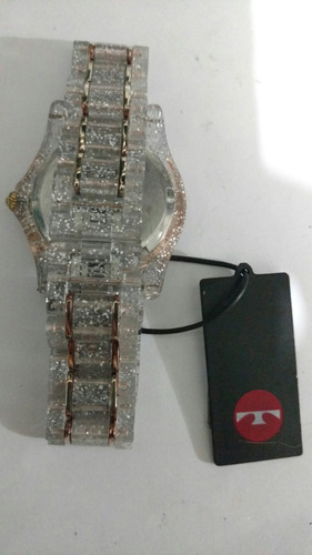 relógio technos resina