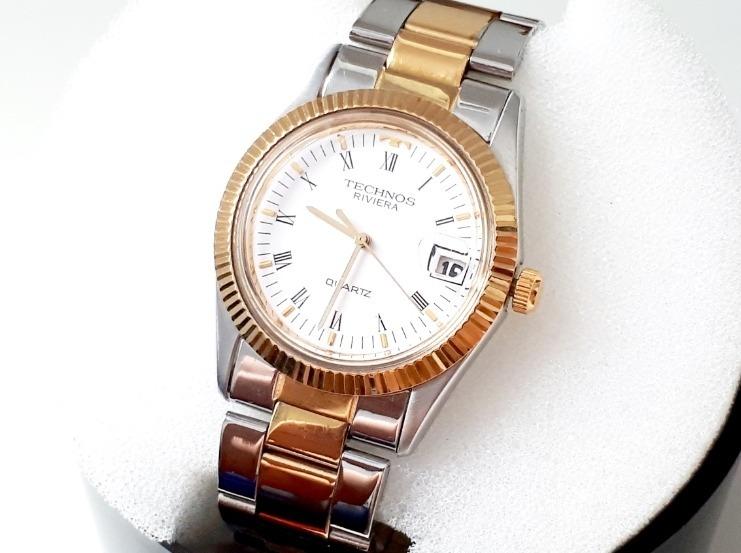 Relógio Technos Riviera 37mm - Novo, Original - Raridade - R  350,00 ... f7f3695c43