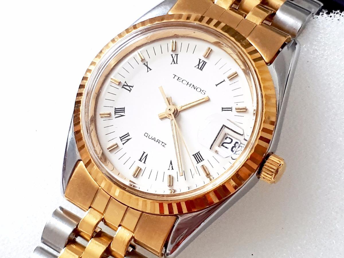 relógio technos riviera feminino - novo, original - raridade. Carregando  zoom. 5403fa8106