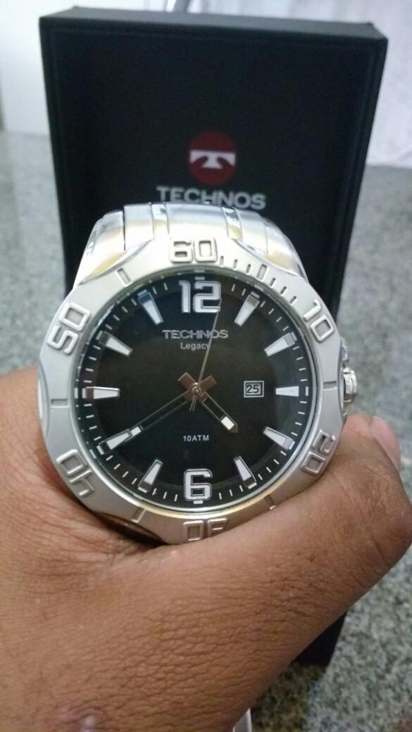 0522fb9ac8e relógio technos (semi novo). Carregando zoom.