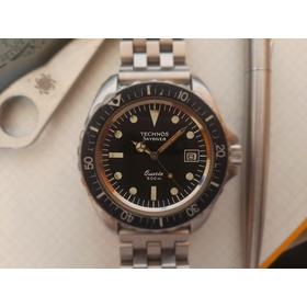 Relógio Technos Sky Diver Quartz 500m 80' Raro Ler Anúncio