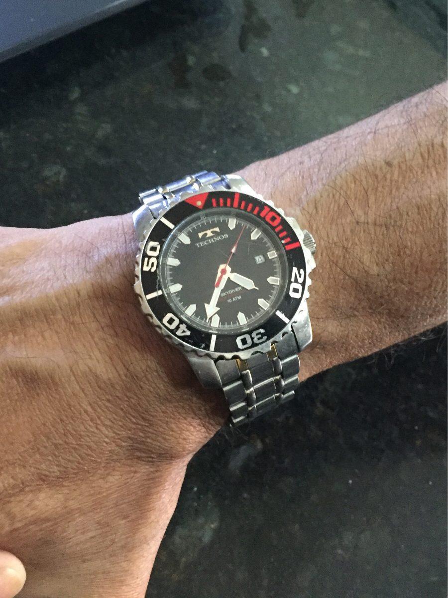 dfb5c42c8f3 relógio technos skydiver 2115 original peça única. Carregando zoom.