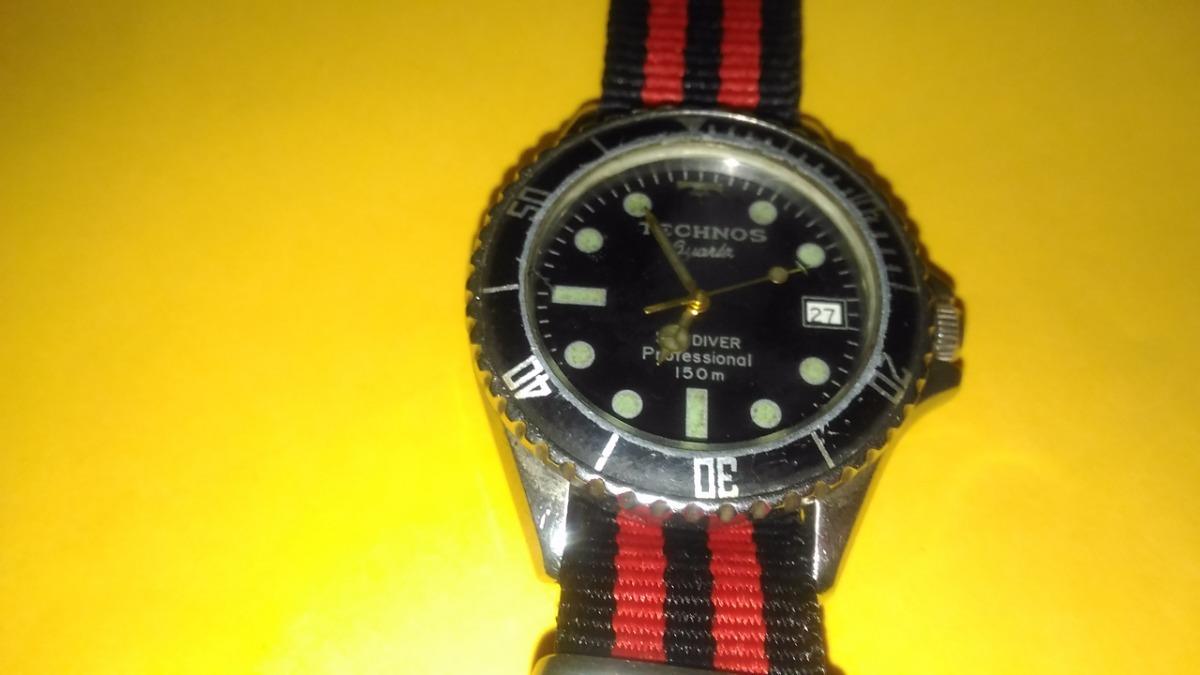 Relógio Technos Skydiver - R  120,00 em Mercado Livre 39f5b72b6e