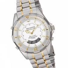 404c36e706b Relógio Technos Skydiver Bicolor Branco 33586 - R  560