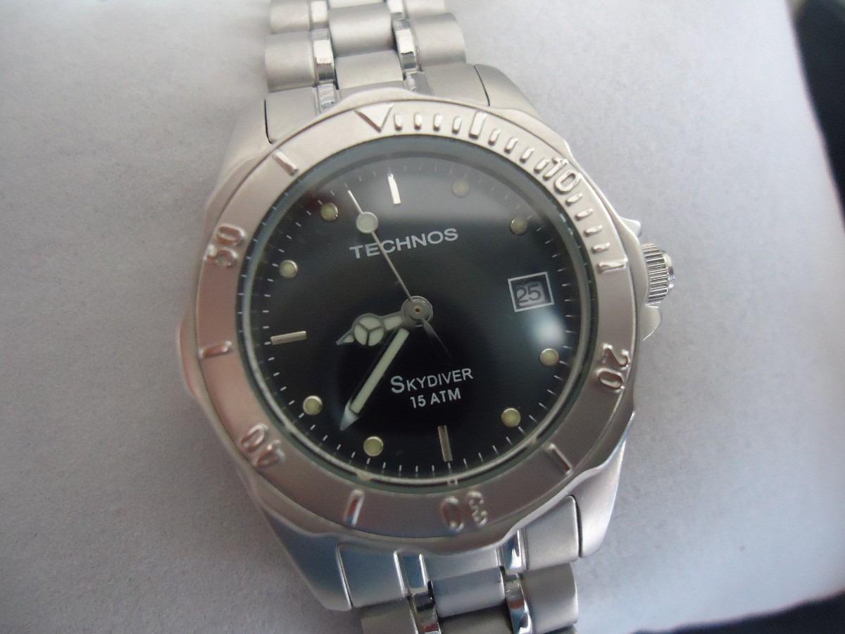 Relógio Technos Skydiver Feminino - R  229,00 em Mercado Livre 7ea7381177