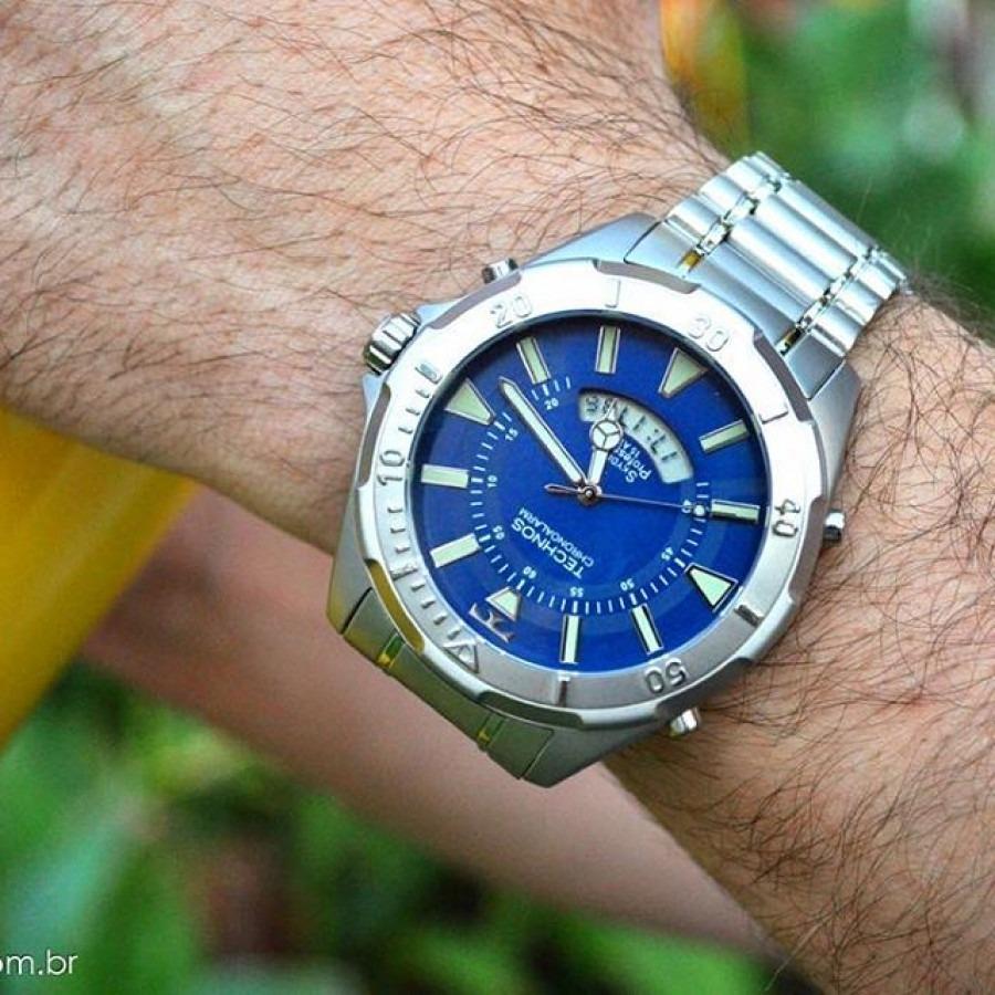 Relógio Technos Skydiver Fundo Azul Grande T205fm 1a - R  489,00 em ... 28c9101a25