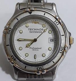 d94d5790ce Relogio Technos Skydiver Professional Preto - Relógios no Mercado ...