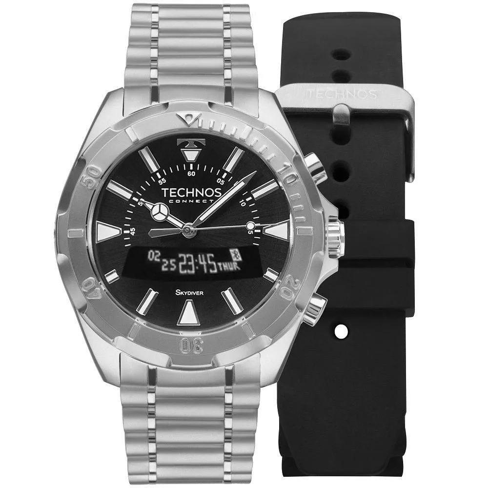 relógio technos skydriver smartwatch 12x sem juros scaa 1p. Carregando zoom. 6a9f019730