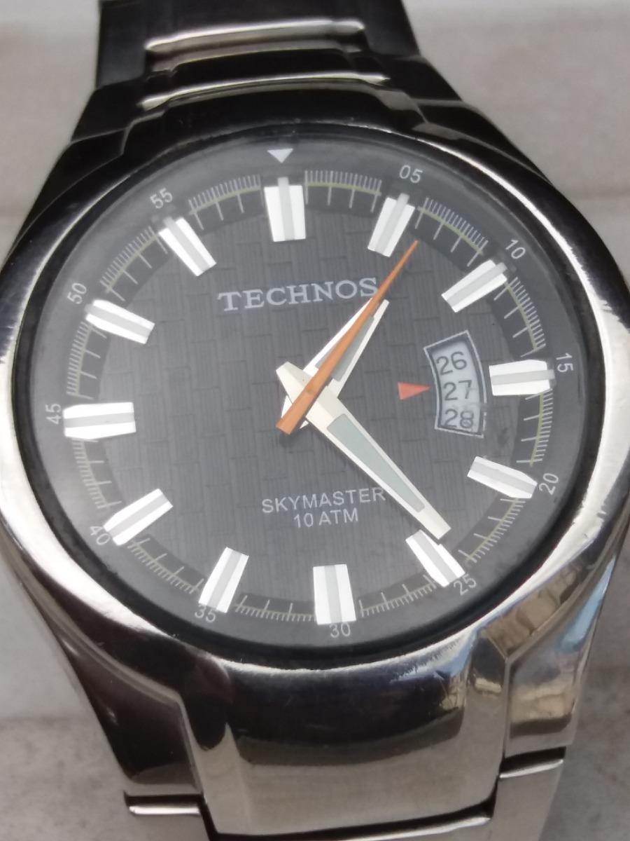 Relogio Technos Skymaster 10atm - R  600,00 em Mercado Livre eae2b0ec61