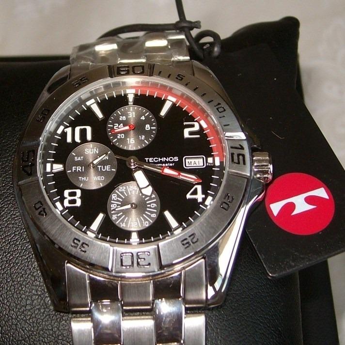 Relógio Technos Skymaster 6p89ae 1p Multi Calendário - Novo - R  250,00 em  Mercado Livre 7c8b8ad0d4